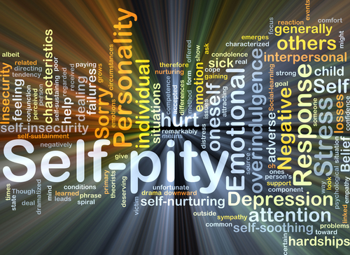 Self-Pity Is Self-Defeating