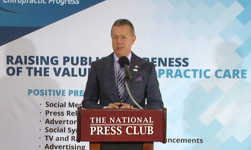 Health Leaders Support Chiropractic Treatment at D.C. Industry Briefing