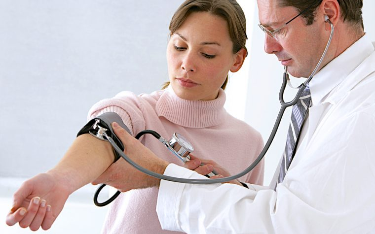 standing blood pressure and fibromyalgia